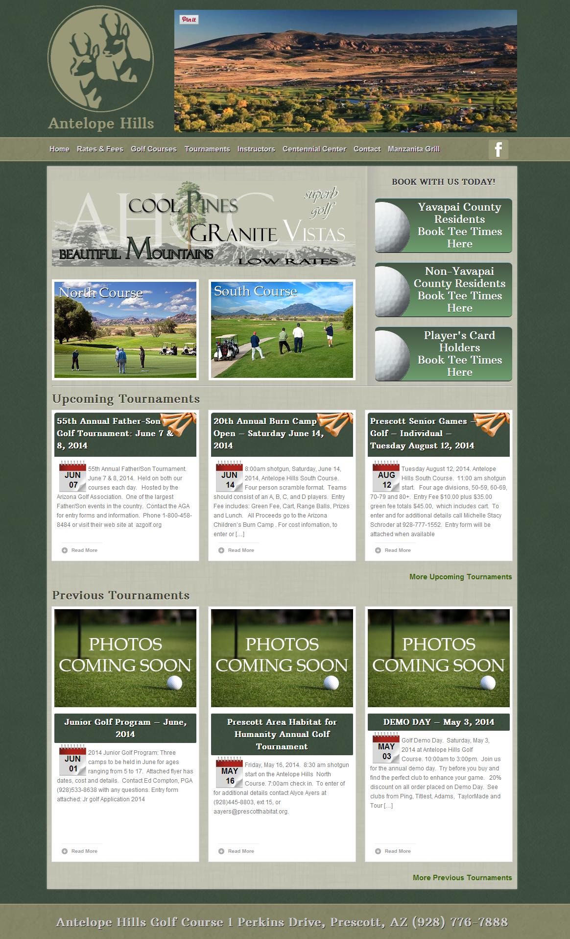 Antelope Hills   Prescott  Arizona s Premier Golf Course